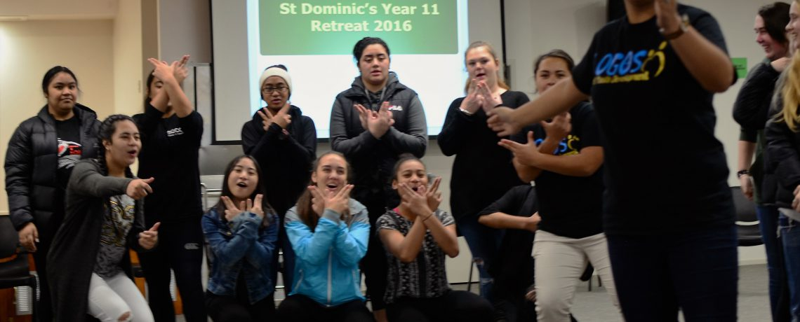 Logos Team #SelfieCheck with St Dominic Year 11 Classes